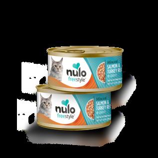Nulo Nulo - Minced Salmon & Turkey cat 3oz