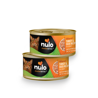 Nulo Nulo - Minced Turkey & Duck cat 3oz