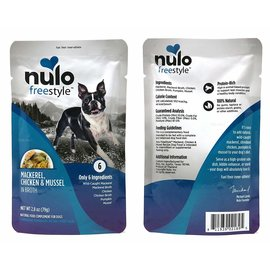 Nulo Nulo - Mackerel, Chicken & Mussel 2.8oz