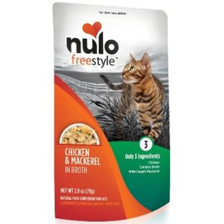 Nulo Nulo - Chicken & Mackerel Cat 2.8oz