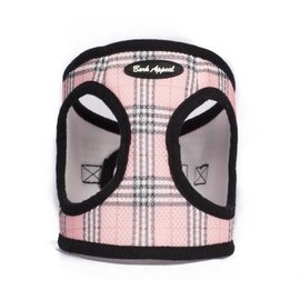 Bark Appeal Bark Appeal - Mesh Step In Pink Plaid Large