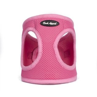 Bark Appeal Bark Appeal - Mesh Step In Pink Large