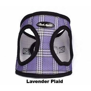 Bark Appeal Bark Appeal - Mesh Step In Lavender Plaid Large