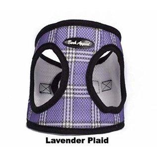Bark Appeal Bark Appeal - Mesh Step In Lavender Plaid XLarge