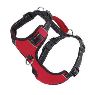 Bay Dog Bay Dog - Red Medium Harness