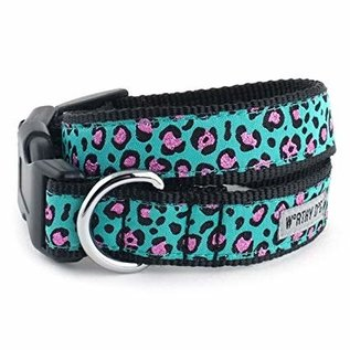 worthy dog Worthy Dog - Cheetah Teal Medium