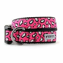 worthy dog Worthy Dog - Cheetah Pink Medium