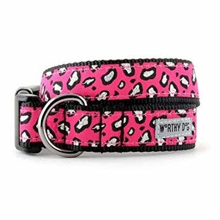 worthy dog Worthy Dog - Cheetah Pink Small