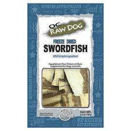 OC RAW OC Raw - Freeze Dried Swordfish Treats 3.2 oz