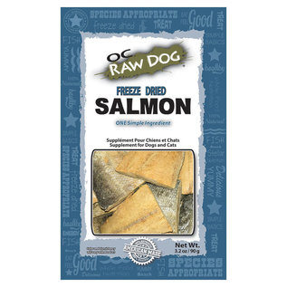 OC RAW OC Raw - Freeze Dried Salmon Treats 3.2oz