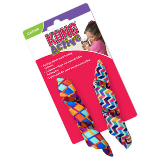 Kong - Cat Active Curlz 2 Pack