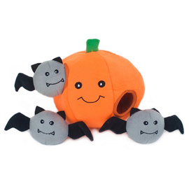 Zippy Paws Zippy Paws - Halloween Pumpkin Burrow