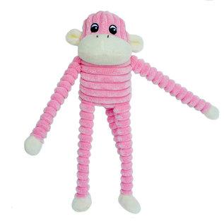 Zippy Paws Zippy Paws - Crinkle Monkey Pink