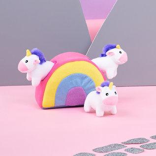 Zippy Paws Zippy Paws - Burrow Unicorns in Rainbow