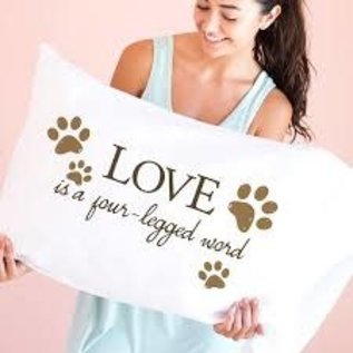 Faceplant - Love is a Four-Legged Word Pillowcase