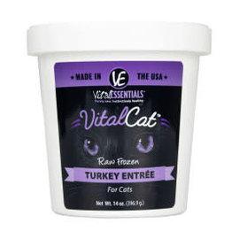 Vital Essentials Vital Essentials - Turkey Cat Tub 14oz