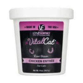 Vital Essentials Vital Essentials - Chicken Cat Tub 14oz