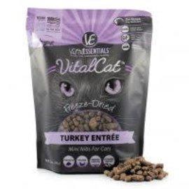 Vital Essentials Vital Essentials -  Freeze Dried Turkey Mini Nibs Cat 12oz