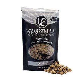 Vital Essentials Vital Essentials- Rabbit Bites Treats 2oz