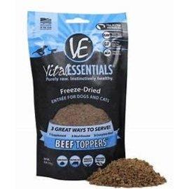 Vital Essentials Vital Essentials- Beef Toppers 6oz