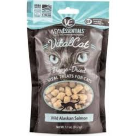 Vital Essentials Vital Essentials - Wild Alaskan Salmon Cat Treats 1.1oz