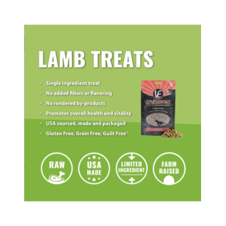 Vital Essentials Vital Essentials - Lamb Treats 2oz