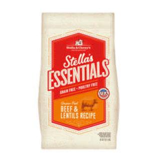 Stella and Chewy's Stella - Essentials Beef & Lentils 25#