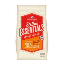 Stella and Chewy's Stella - Essentials Beef & Lentils 3#