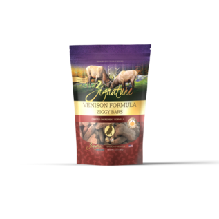 Zignature Zignature - Ziggy Bars Venison 12oz