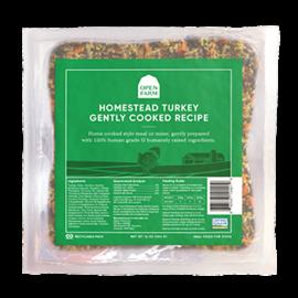 Open Farm Pet Open Farm - Turkey Gently Cooked 4.5lbs (6x12oz)