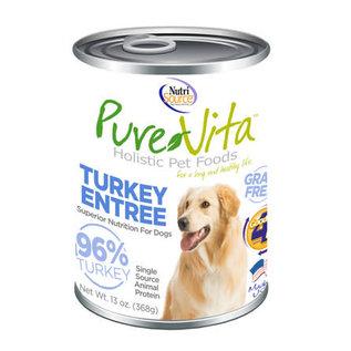 Pure Vita- Turkey Dog 13oz/case