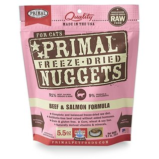 Primal Primal - Feline Freeze Dried Beef & Salmon 5.5oz