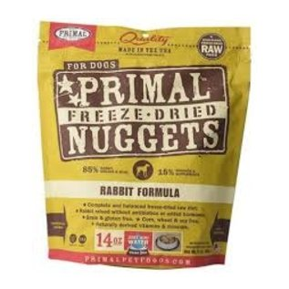 Primal Primal - Freeze Dried K9 Rabbit 14oz