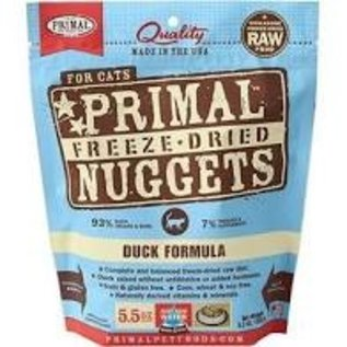 Primal Primal - Feline Freeze Dried Duck 5.5oz