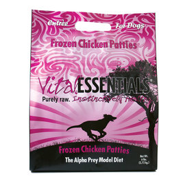 Vital Essentials Vital Essentials - Chicken Patties 6#