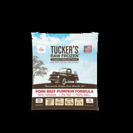 Tucker's Tucker's - Pork, Beef & Pumpkin 6#