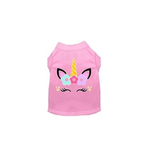 Fur Babies Fur Babies - Unicorn Dog Shirt Medium
