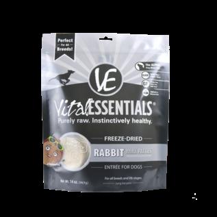 Vital Essentials Vital Essentials - Freeze Dried Rabbit Mini Patties 14oz