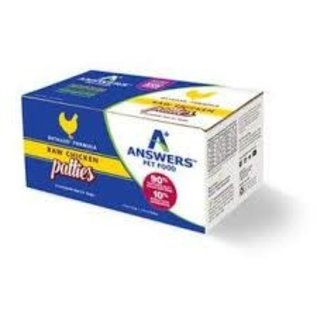 Answers Answers - Detailed Chicken Patties 8oz/4#