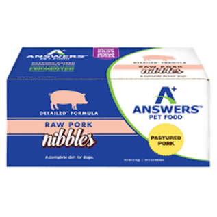 Answers Answers - Detailed Pork Patty 8oz/4#