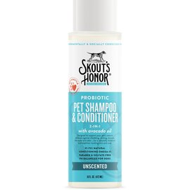 Skout's Honor Skout's Honor - Probiotic Shampoo + Conditioner Unscented