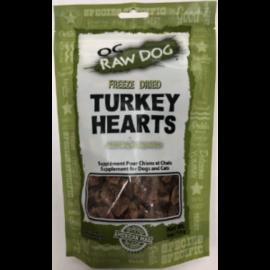 OC RAW OC Raw - Freeze Dried Turkey Hearts