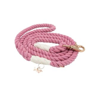 Sassy Woof Sassy Woof - Rope Leash Cotton Candy