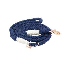 Sassy Woof Sassy Woof - Rope Leash Nautical