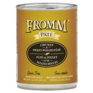 Fromm Family Foods Fromm - Chicken & Sweet Potato Pate 12.2oz