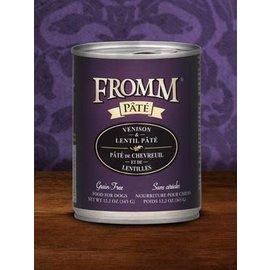 Fromm Family Foods Fromm - Venison & Lentil Pate 12.2oz