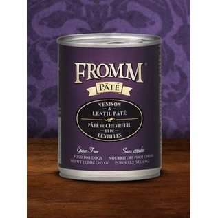 Fromm Family Foods Fromm - Venison & Lentil Pate 12.2oz