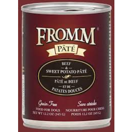 Fromm Family Foods Fromm - Beef & Sweet Potato Pate 12.2oz/case