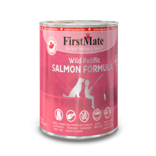 First Mate First Mate - LID Salmon Dog 12.2oz