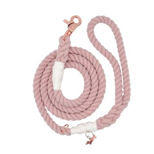 Sassy Woof Sassy Woof - Rope Leash Rose All Day